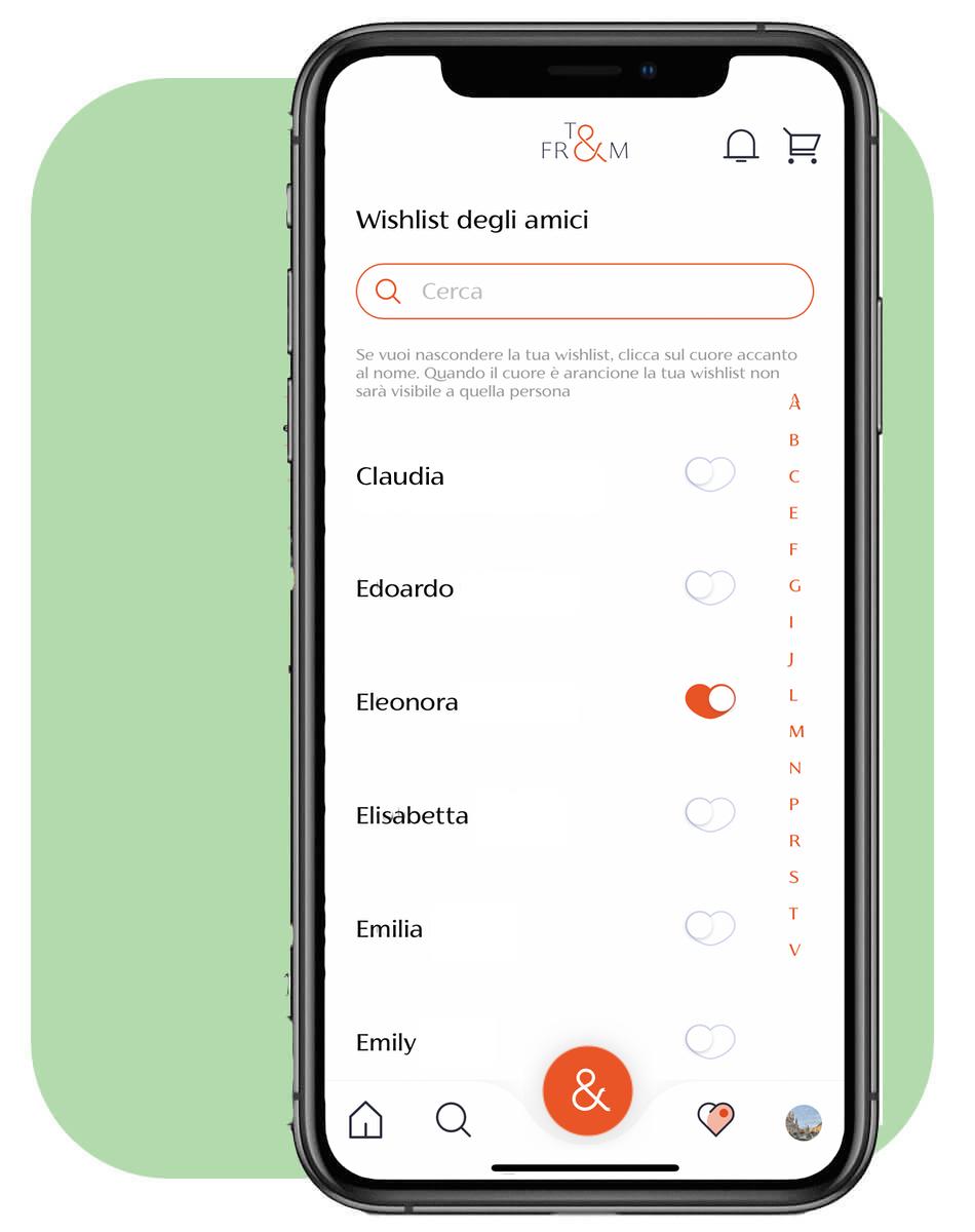 scarica l'app To&From per fare i regali